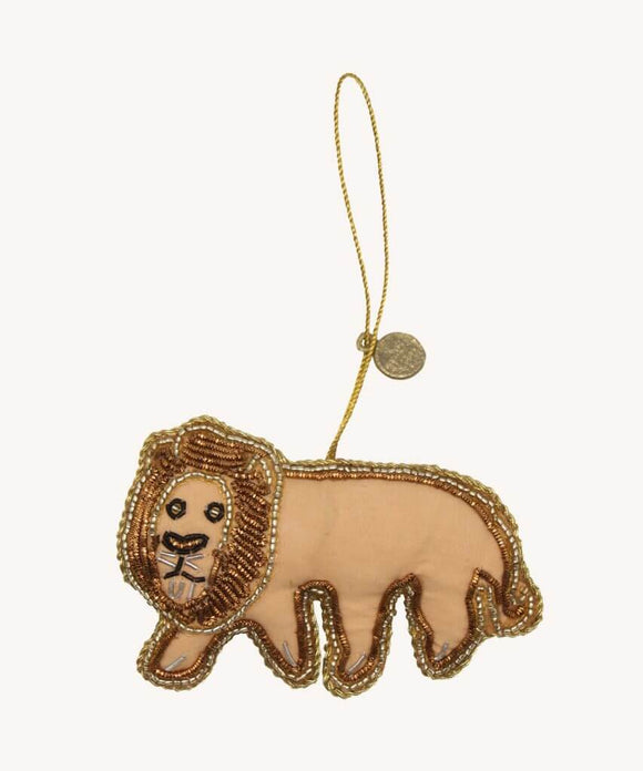 Loopy Lion Ornament