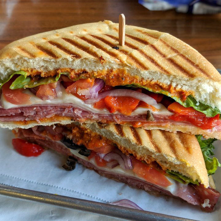 Spicy Italian Grilled Panini