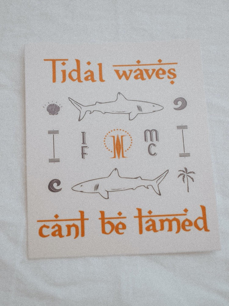 """Tidal Waves Can't Be Tamed"" - MaeCargo"