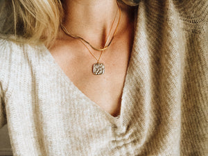 """Vintage Coin + Tulum Sands Queen"" necklaces - Mae Cargo"