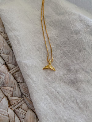 Whale Tail Necklace - Mae Cargo