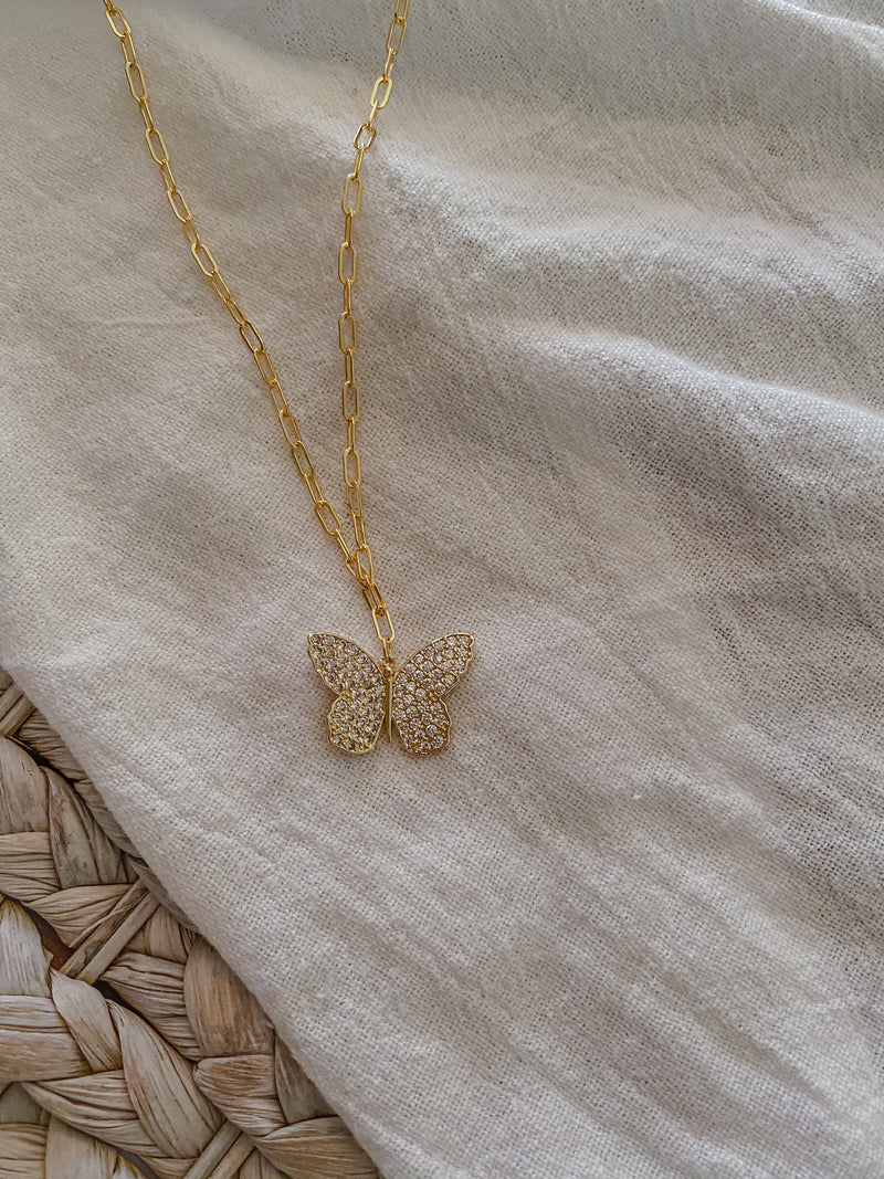 Butterfly Necklace - Mae Cargo