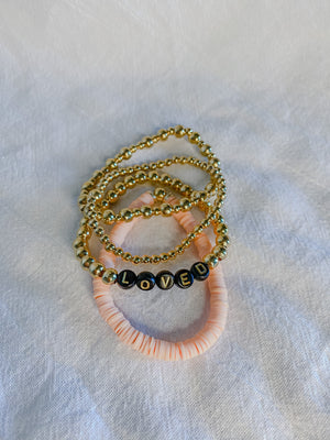 LOVED bracelet stack - MaeCargo