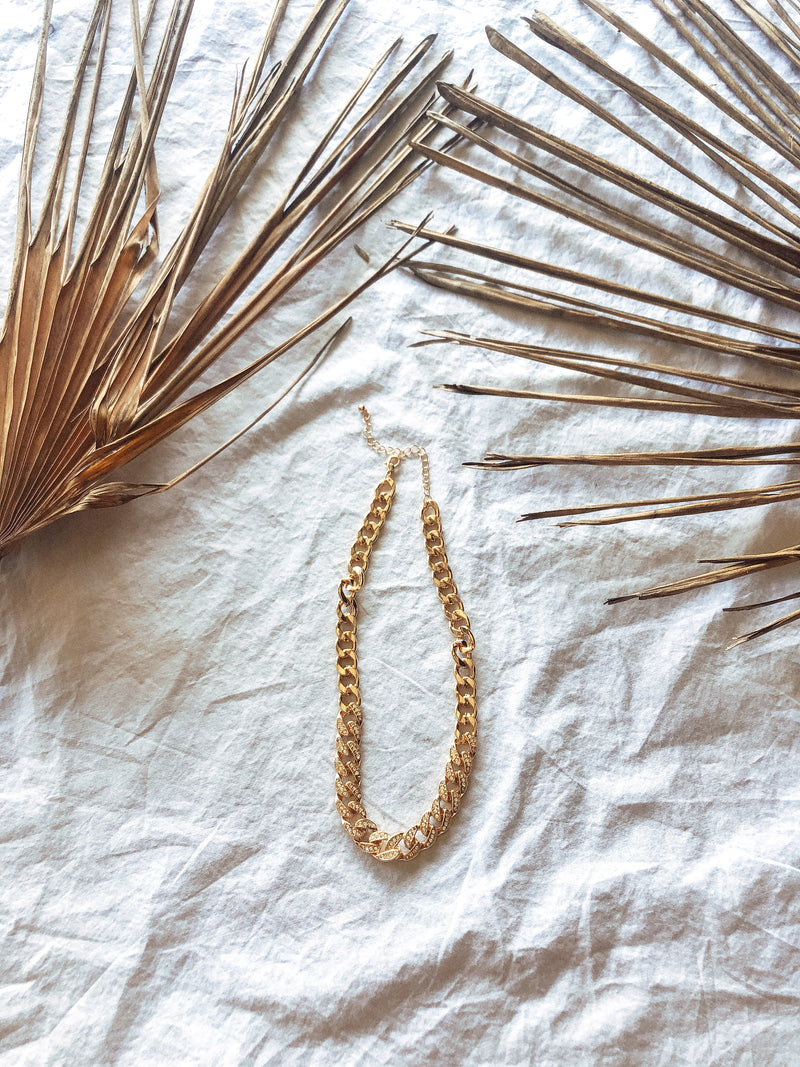 """Determined"" Chain Necklace - MaeCargo"