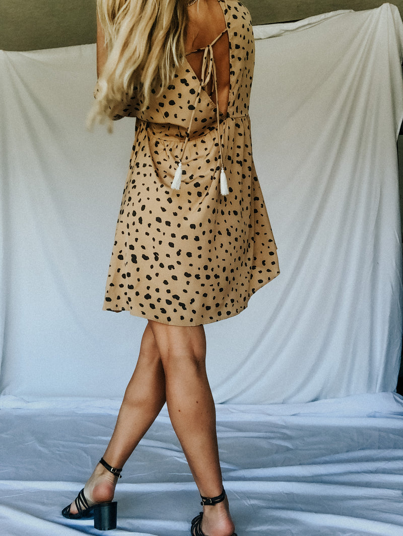 On The Wild Side Babydoll Dress - MaeCargo