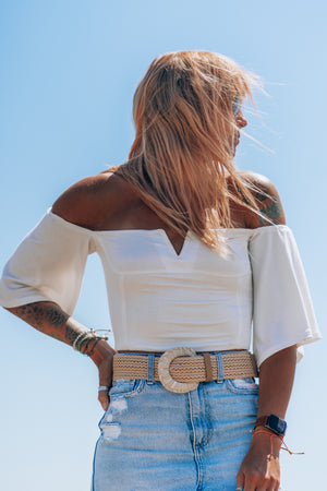 The Gold Dust Sweetheart Crop - MaeCargo