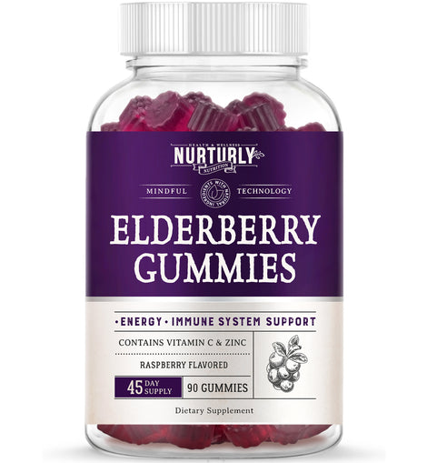 Elderberry Gummies - 90 Count