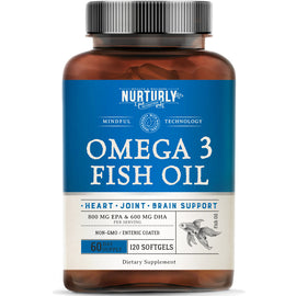 Omega 3 Fish Oil - 120 Count