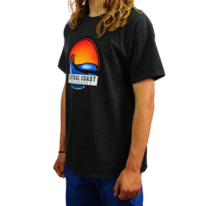 Central Coast Surf Circle Wave T-Shirt