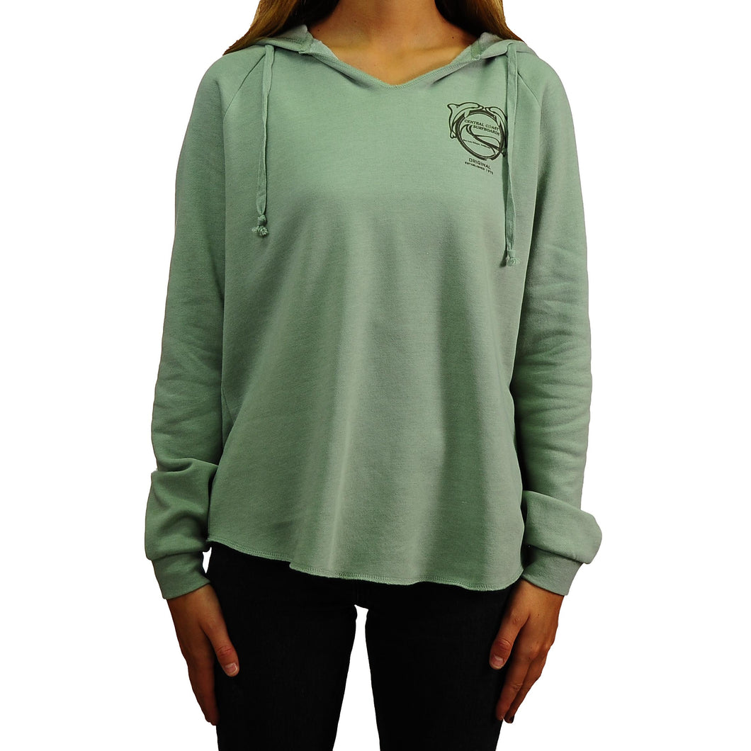 CCS Women's Pullover Dolphin Hoodie
