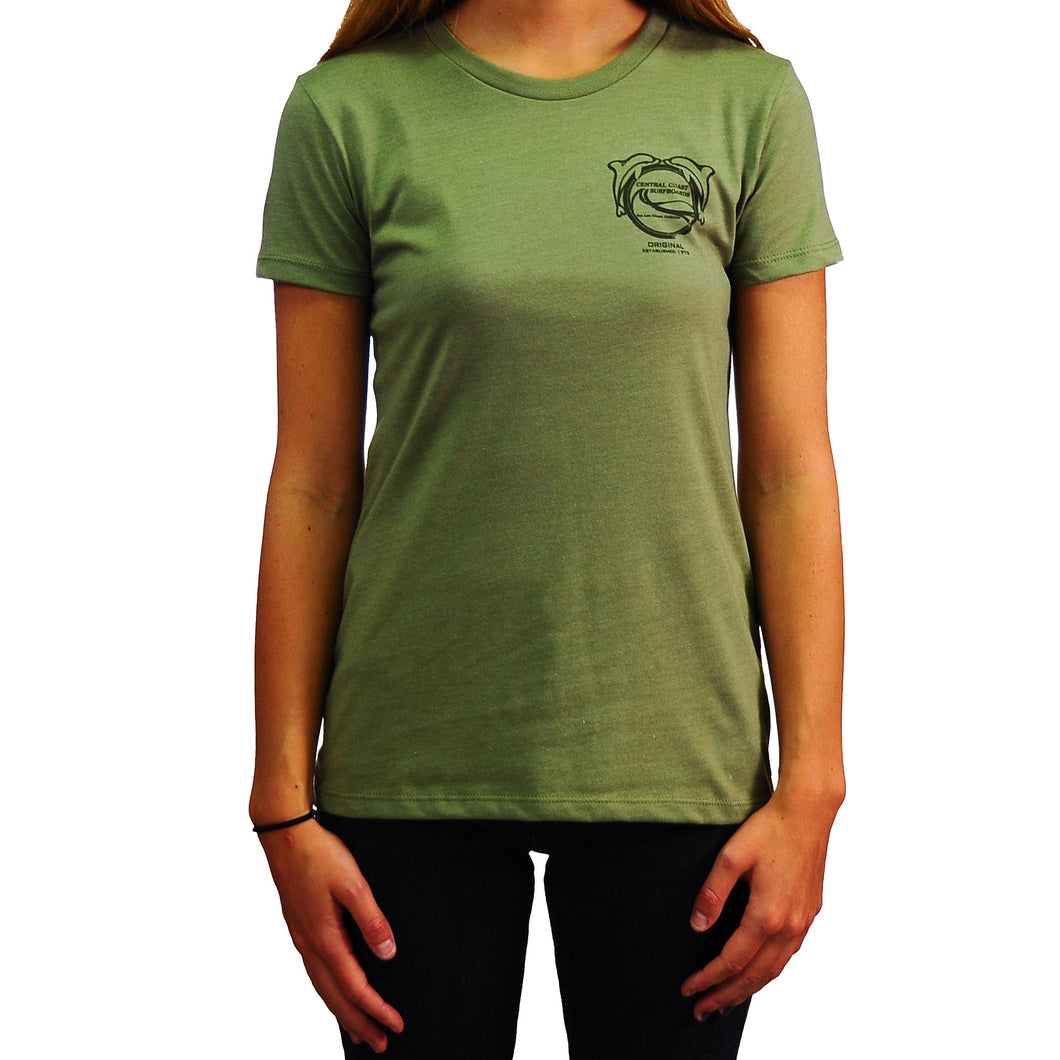Central Coast Surf Women's Dolphins T-Shirt