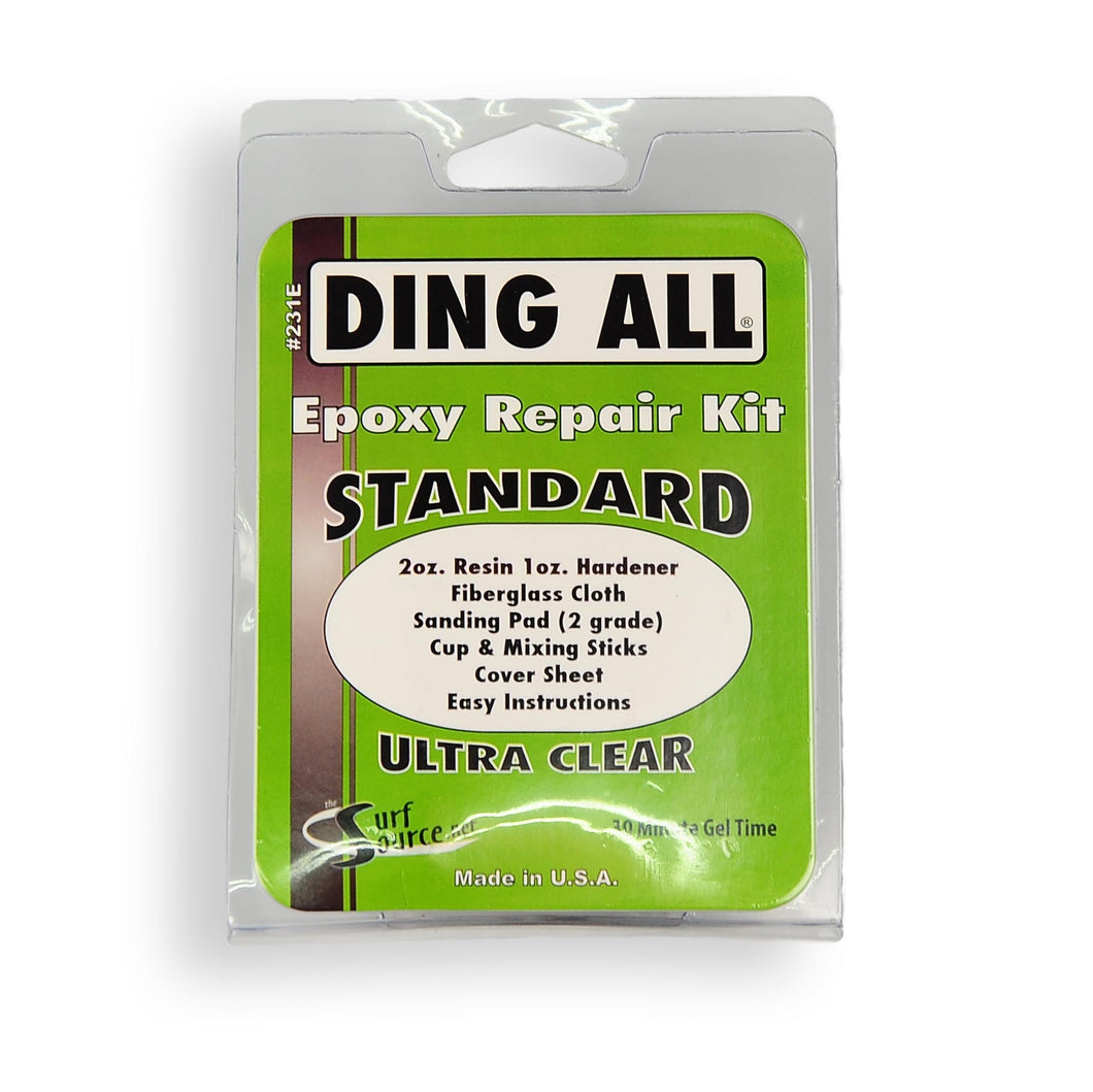Ding All Epoxy Resin Standard Ding Repair Kit