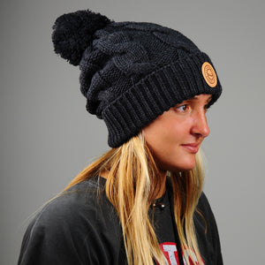 Central Coast Surf Patch Women's Knit Beanie