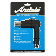 Load image into Gallery viewer, Andalé Multi Purpose Black Skate Tool Ratcheting