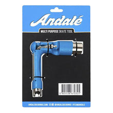 Load image into Gallery viewer, Andalé Multi Purpose Blue Skate Tool