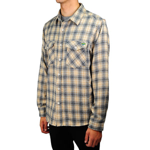 Central Coast Surfboards Logan Flannel Stone