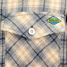 Load image into Gallery viewer, Central Coast Surfboards Logan Flannel Stone
