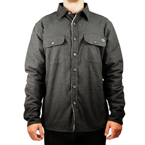 Central Coast Surfboards Mickey Flannel Sherpa-Lined Jacket