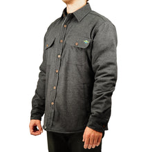 Load image into Gallery viewer, Central Coast Surfboards Mickey Flannel Sherpa-Lined Jacket