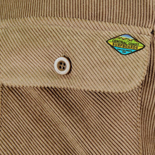 Load image into Gallery viewer, Central Coast Surfboards Jocko Corduroy Sherpa-Lined Jacket Khaki