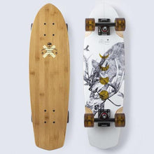 "Load image into Gallery viewer, Arbor Pocket Rocket Bamboo 27"" Complete Skateboard"