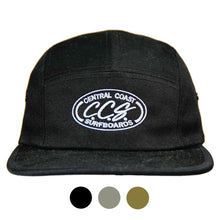 Load image into Gallery viewer, Central Coast Surfboards Five-Panel Hat