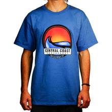 Load image into Gallery viewer, Central Coast Surf Circle Wave T-Shirt