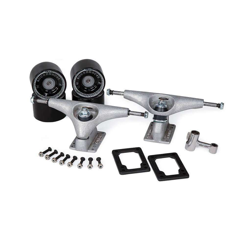 Carver CX.4 Surfskate Truck Kit Raw