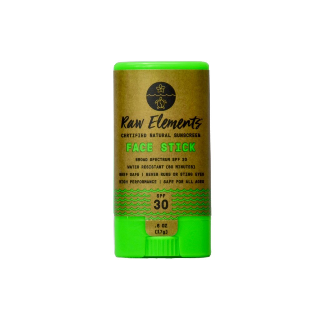 Raw Elements Face Stick SPF 30 0.6 oz