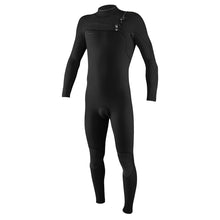 Load image into Gallery viewer, O'Neill HyperFreak Chest Zip 4/3+ Men's Full Wetsuit Black