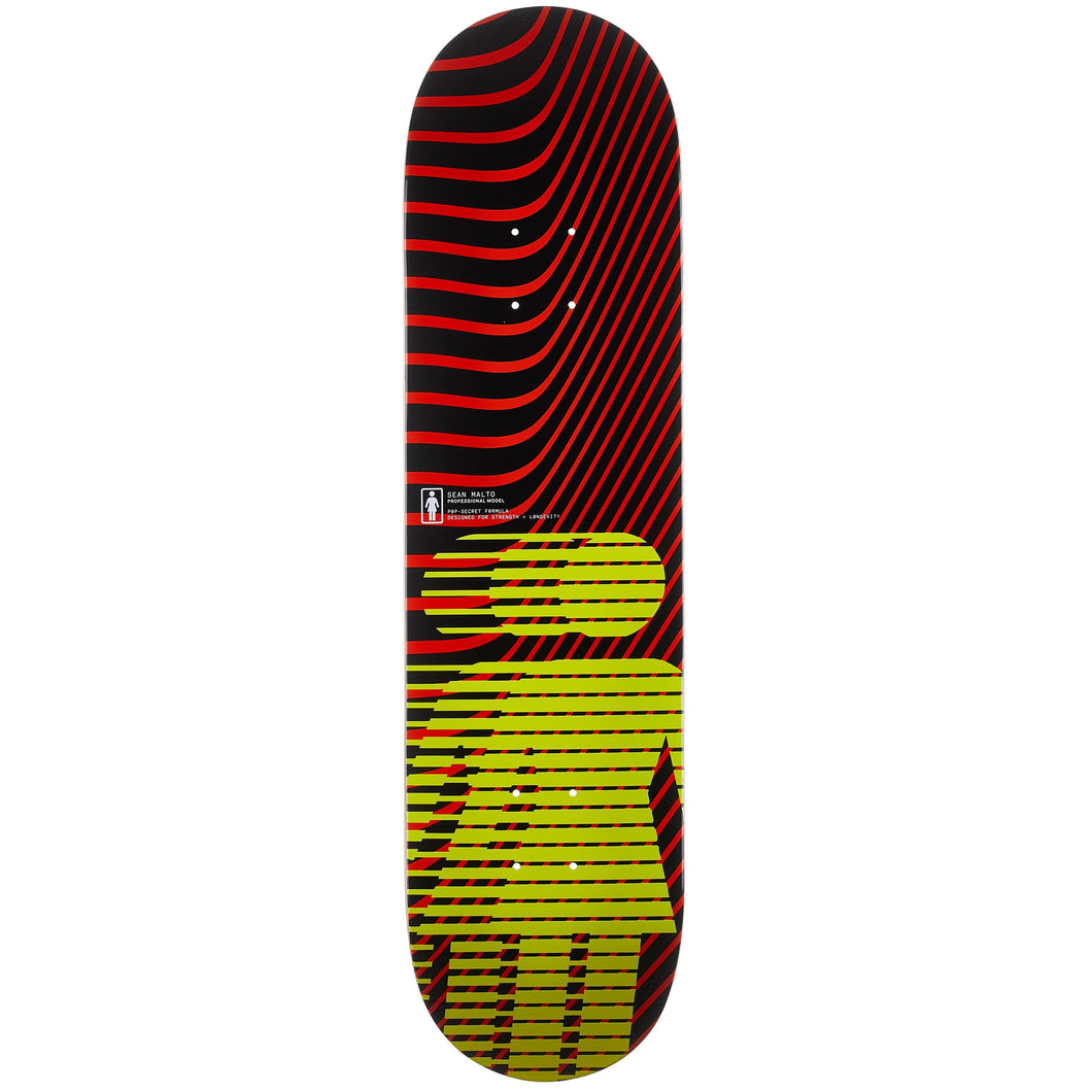 Girl Malto Hero Pop Secret Skateboard Deck 8.25