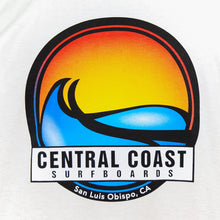 Load image into Gallery viewer, Central Coast Surf Circle Wave T-Shirt Long Sleeve