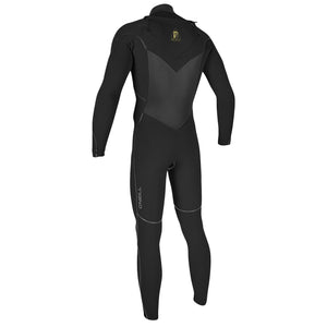 O'Neill Mutant Legend Chest Zip with Hood 4.5/3.5 Men's Full Wetsuit Black