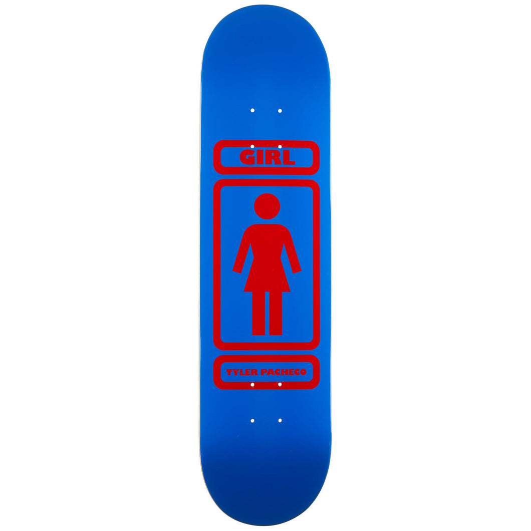 Girl Pacheco 93 Til Skateboard Deck 7.875