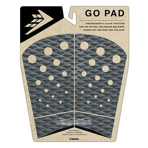 Firewire Machado Go Pad Fishtail Traction Pad Gray/Black