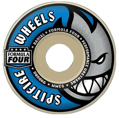 Spitfire Formula Four Radials 99A 56mm Skate Wheel 4 Pack