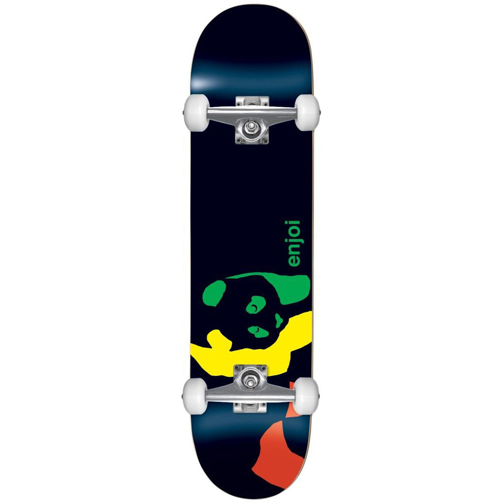 Enjoi Rasta Panda Youth Mini Complete Skateboard