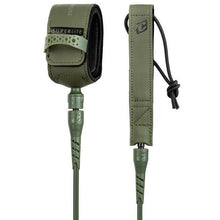 Load image into Gallery viewer, Creatures of Leisure Superlite Comp 6 Leash Military Green