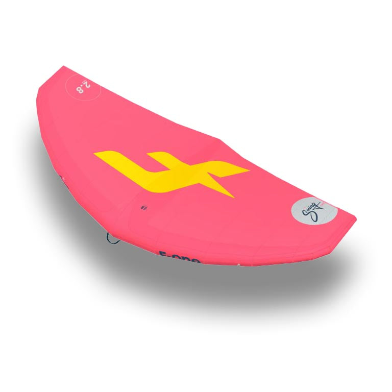 F-One Swing Foil Surf Wing 5.0 Meters Coral/Mango