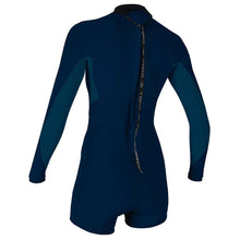 Load image into Gallery viewer, Women's O'Neill Bahia 2/1mm Back Zip Long Sleeve Spring Wetsuit