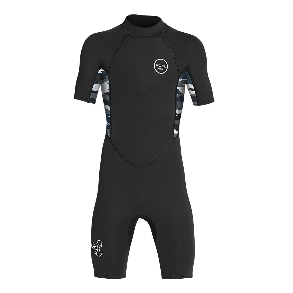 Youth XCEL 2mm Axis Short Sleeve Spring Suit