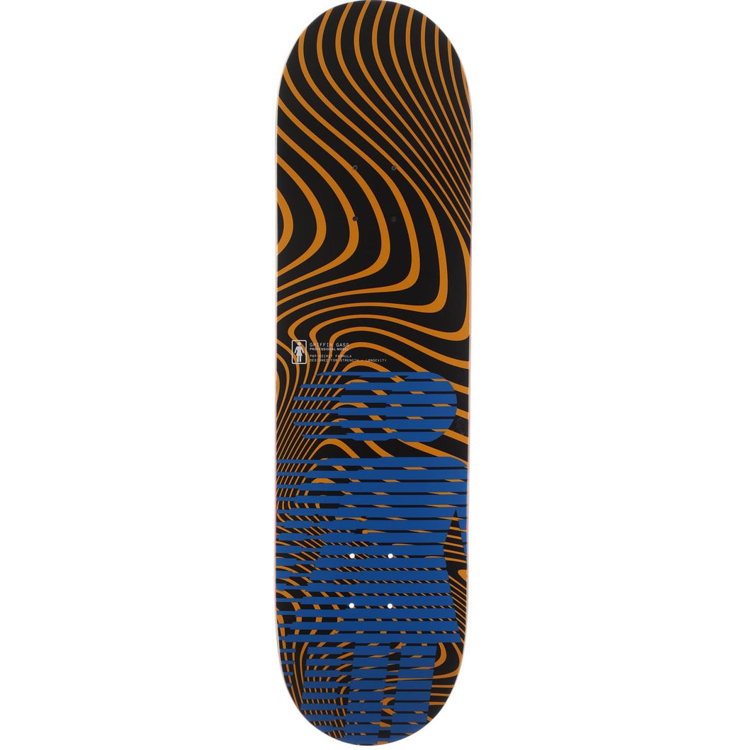 Girl Gass Hero Pop Secret Skateboard Deck 8.375