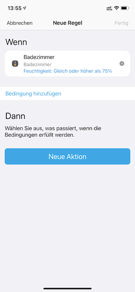 Automation in der SmartThings App