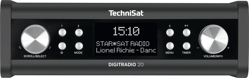 TechniSat DIGITRADIO 20 Anthrazit