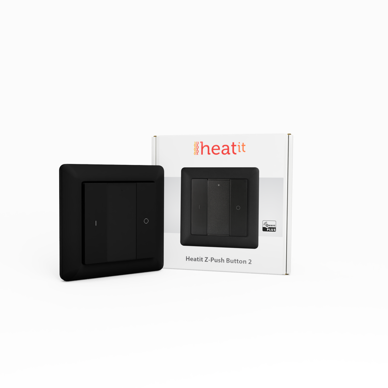 Heatit Z-Push2 Black