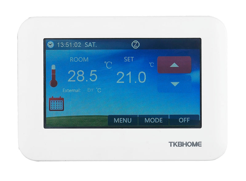 TKB Home Touchpanel Thermostat