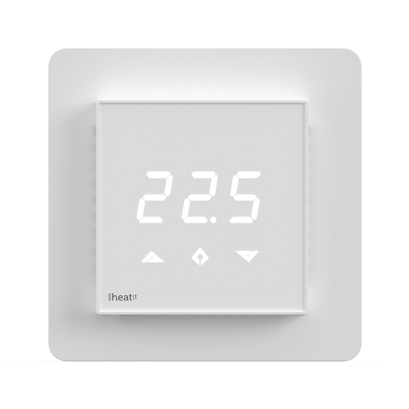 Heatit Z-TRM3 thermostat 3600W 16A White