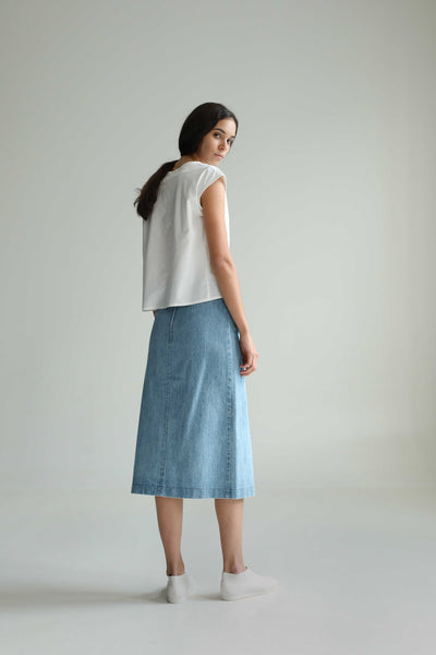 Big Sis Denim Skirt