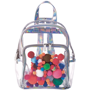 Pom Poms Large Backpack