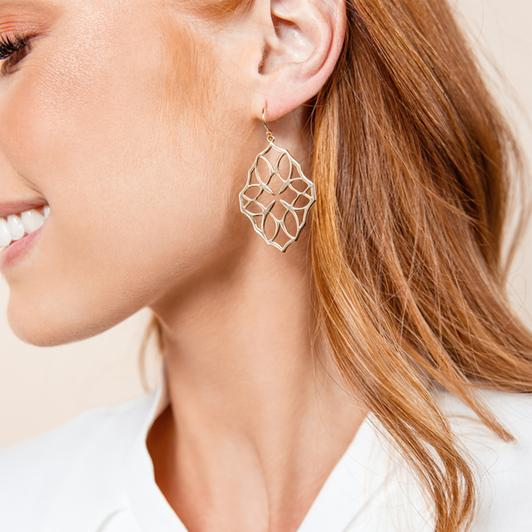 Believer Small Drop Earrings